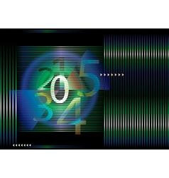 Countdown concept vector