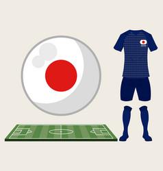 football japan sport wear vector image