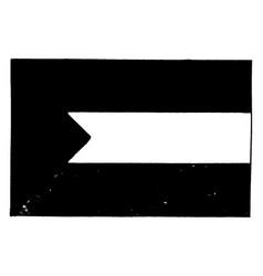 hejaz and iraq 1923 this flag has three equal vector image