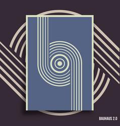 minimal geometric design backgrounds set vector image