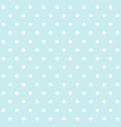 polka dots blue and white abstract seamless patter vector image