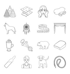 Sport medicine animal and other web icon in vector