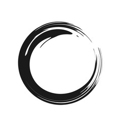 zen symbol graphic vector image