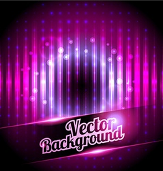 Disco background with place for your text vector image