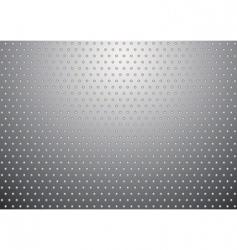 silver metal background bobble vector image vector image