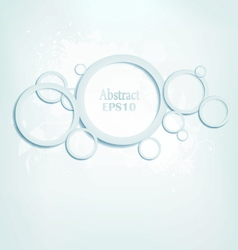 Abstract Blue Design vector image