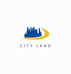 City land building template design logo vector