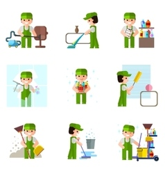 Cleaning company icon professional vector image
