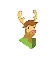 Deer-Mascot-380x400 vector image
