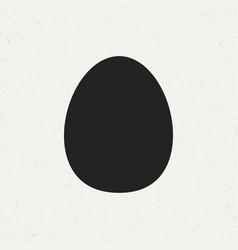 Egg icon vector