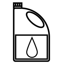 engine oil icon vector image