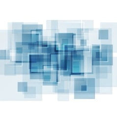 Hi-tech blue abstract background vector