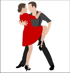 Tango dancers 2 vector