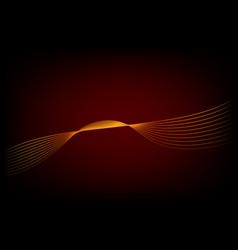 Template - wave line set 01 06c vector
