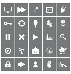 Universal Flat Icons Set 2 vector