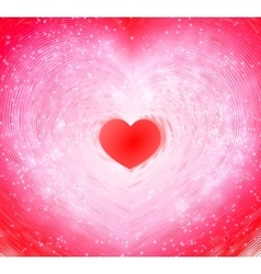 Valentines day Abstract bacground for greeting vector image vector image