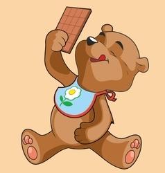 Teddy-bear vector image vector image