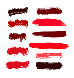 Abstract background ink brush strokes with rough vector