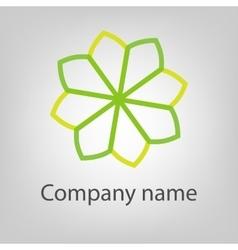 Abstract logo icon concept Logotype vector image