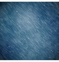 Background with rain vector image