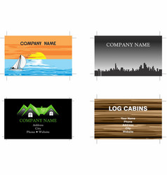Business cards 9 vector