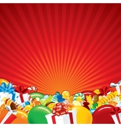 Festive Background Template vector