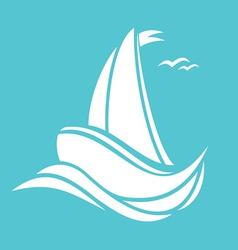 Sailingboat3 resize vector