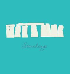 Stonehenge icon on white background vector