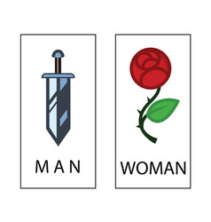 Wc icon - toilet sign vector