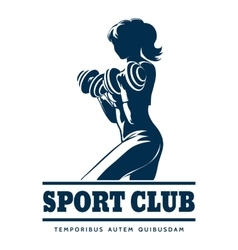 Athletic Sport Club Emblem vector image vector image