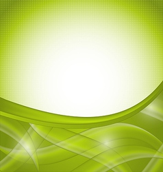 Green nature background design template vector image vector image