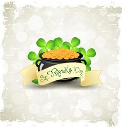 Patricks Day Card vector image vector image