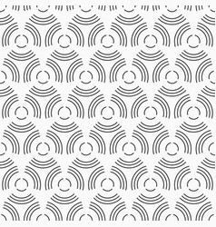 Abstract seamless pattern of circles from vector