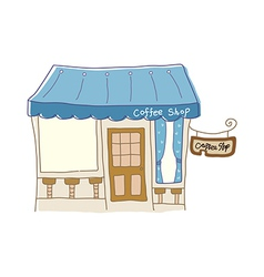 cafe icon vector image vector image