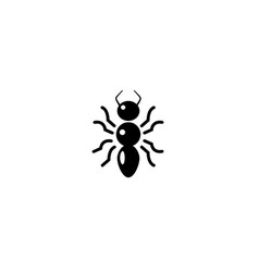 creative ant logo vector image
