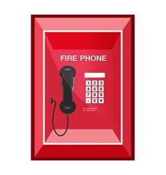 Fire Phone Sign vector