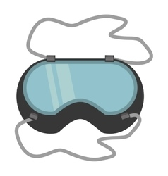 Glasses security work element vector