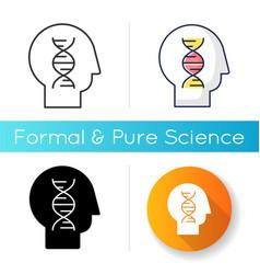 human biology icon vector image