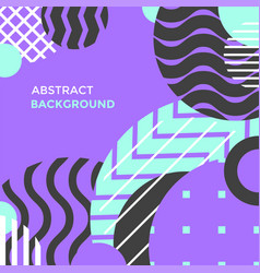 Modern abstract minimal design background vector
