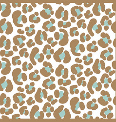 Seamless leopard pattern simple texture vector