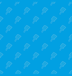 Swatter pattern seamless blue vector
