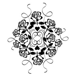 Ornament with flowers vector image vector image
