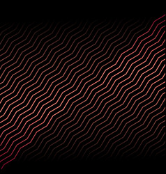 abstract red metallic diagonal chevron line vector image