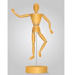 Artist Mannequin vector image
