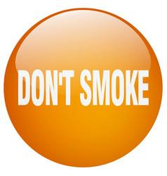 Dont smoke vector