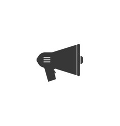 megaphone icon simple flat style vector image