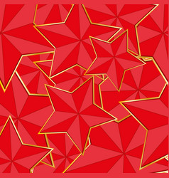 red star background vector image