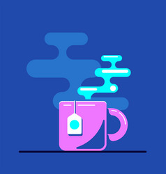 tea cup icon vector image