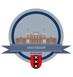 Amsterdam vector image vector image