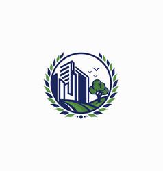 agriculture logo ilustration vector image